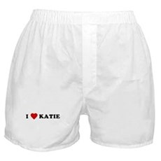 I Love [Heart] Katie Boxer Shorts