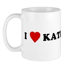 I Love [Heart] Katie Mug