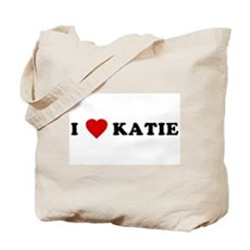 I Love [Heart] Katie Tote Bag