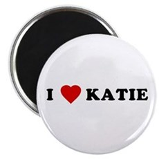 I Love [Heart] Katie Magnet