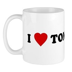 I Love [Heart] Tom Mug