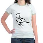 Stylized Lark Jr. Ringer T-Shirt