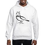 Stylized Lark Hooded Sweatshirt