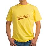 Birdaholic Yellow T-Shirt