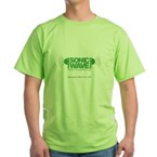 Sonic Wave Fence Company Green T-Shirt