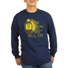 The Sun Tries to Burn Me Long Sleeve T-Shirt