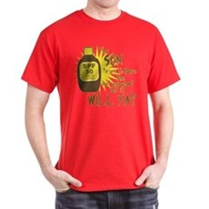 The Sun Tries to Burn Me T-Shirt