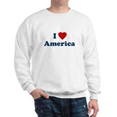 I Love [Heart] America Sweatshirt