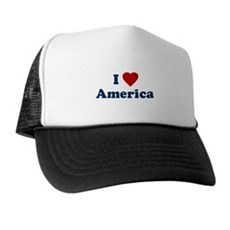 I Love [Heart] America Trucker Hat