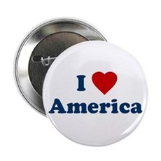 I Love [Heart] America Button