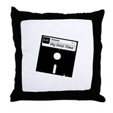 My First Time Throw Pillow