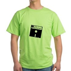 My First Time Green T-Shirt