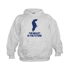 The Mullet is the Future Kids Hoodie