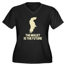 The Mullet is the Future Womens Plus Size V-Neck