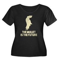 The Mullet is the Future Womens Plus Size Scoop N
