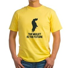 The Mullet is the Future Yellow T-Shirt