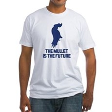 The Mullet is the Future Fitted T-Shirt