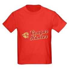 Cougar Hunter Kids T-Shirt
