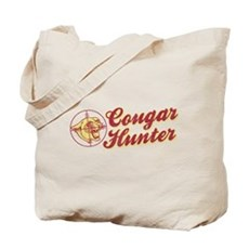 Cougar Hunter Tote Bag
