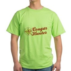 Cougar Hunter Green T-Shirt