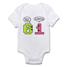 Opposites Attract Infant Bodysuit