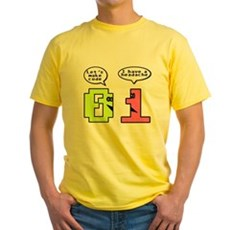 Opposites Attract Yellow T-Shirt