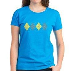 Argyle Business Casual Womens T-Shirt