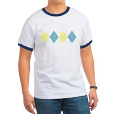 Argyle Business Casual Ringer T