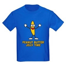 Peanut Butter Jelly Time Kids T-Shirt