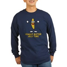 Peanut Butter Jelly Time Long Sleeve T-Shirt