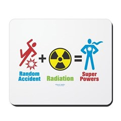 Super Powers Mousepad