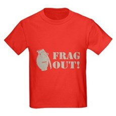 Frag Out! Kids T-Shirt