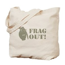 Frag Out! Tote Bag