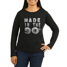 Made in the 90's Womens Long Sleeve T-Shirt