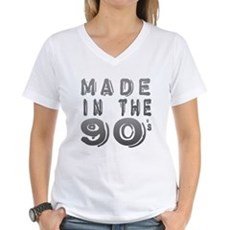 Made in the 90's Womens V-Neck T-Shirt
