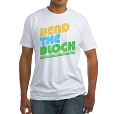 Bend the Block Fitted T-Shirt