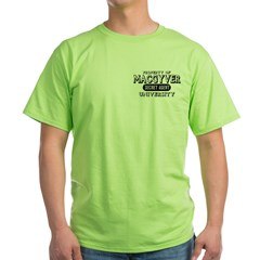 Macgyver University Secret Agent Green T-Shirt