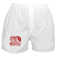 Sometimes I Pee When I Laugh Boxer Shorts