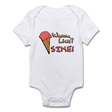 Wanna Lick? Infant Bodysuit