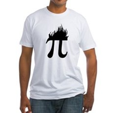 Hair Pi Fitted T-Shirt