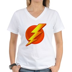 Superhero Women's V-Neck T-Shirt