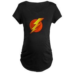 Superhero Maternity Dark T-Shirt
