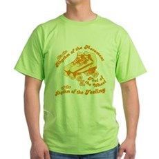 The Rhythm of the Movement Green T-Shirt