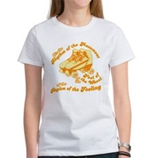 The Rhythm of the Movement Womens T-Shirt