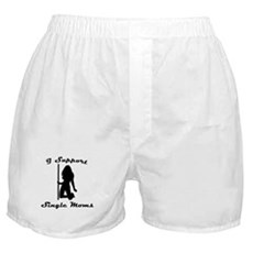 I Support Single Moms Boxer Shorts