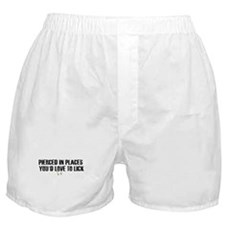 Pierced in places - Boxer Shorts