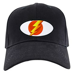 Superhero Black Cap