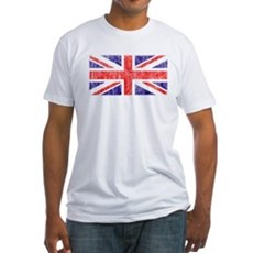 Vintage Union Jack Fitted T-Shirt