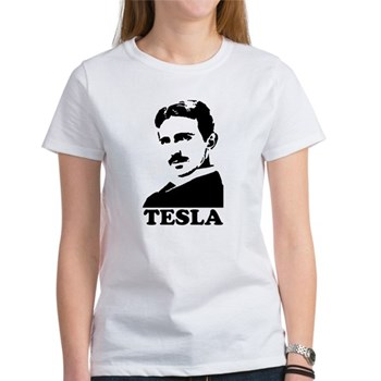 Tesla Women's T-Shirt | Gifts For A Geek | Geek T-Shirts