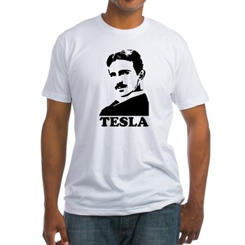 Tesla Fitted T-Shirt | Gifts For A Geek | Geek T-Shirts